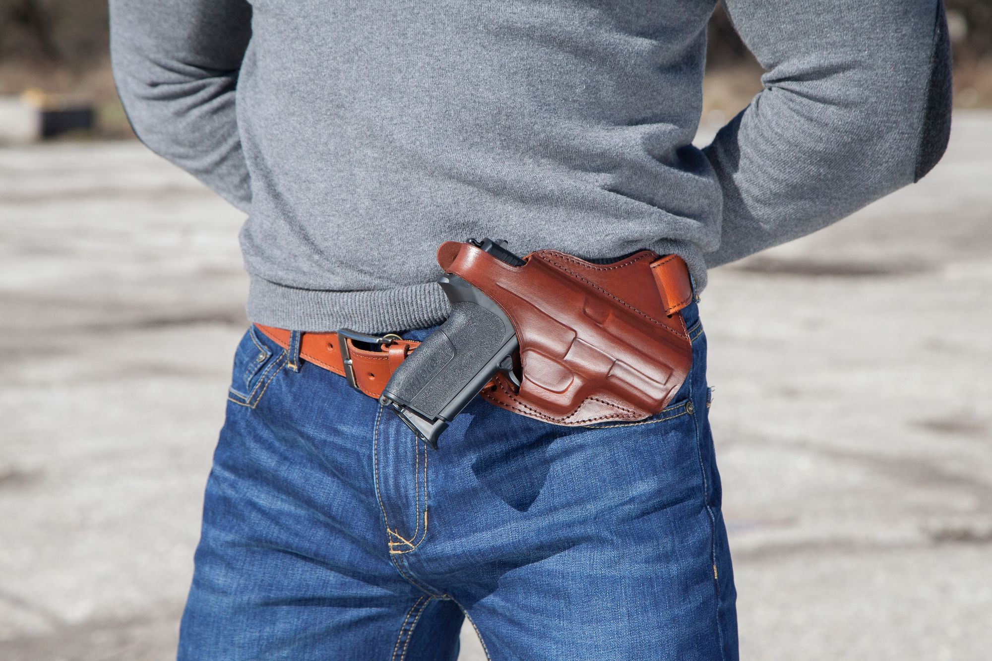 Leather Shoulder Cowboy Holsters – The way of wild west