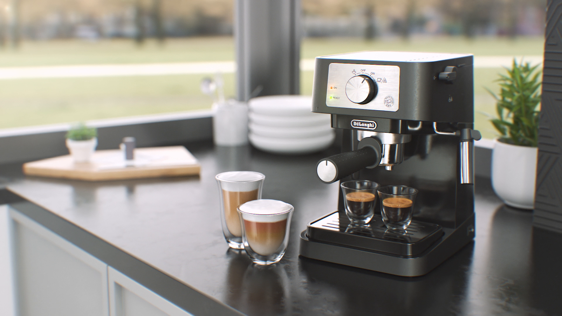 DeLonghi espresso, your best energy every morning