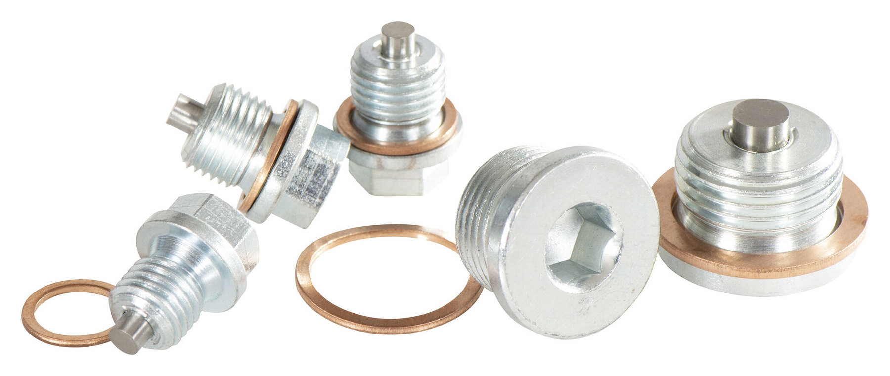 Acquire Oil drain plug through the fence certified page thanks to its positioning